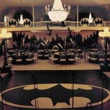 Batman Table Decorations Gotham City Halloween Party Set The Table With Costumes All