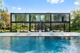 glass box architecture own a glass box hamptons home designed by one world trade center u0027s