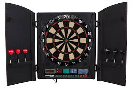 black dart board cabinet amazon com bullshooter by arachnid marauder 5 0 electronic