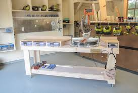 table saw workbench plans diy miter saw bench the home depot