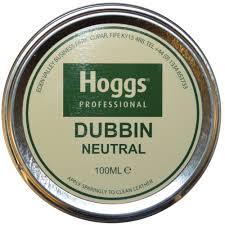dubbin neutral colour 100ml tin dubbin