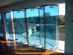 Bifold Exterior Glass Doors Bifold Doors With Glass Inserts Leandrocortese Info