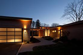 renovation and addition to a 1950s modern home in hingham ma