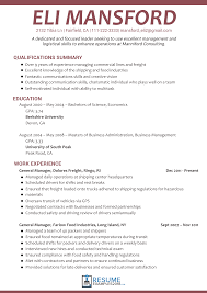 exles of resume templates 11 amazing management resume exles livecareer project operations