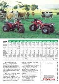 very rare honda atc trike 250 250es bigred big red quad atv