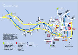 Map Running Route by Half Marathon U2013 Fearlessfeet