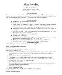 Warehouse Supervisor Resume Warehouse Manager Resume Template Warehouse Manager Sample Resume