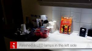 Configuration Cuisine Ikea by Ikea Led In Kitchen Youtube