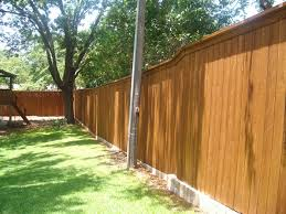 fence staining dallas fort worth action fence u0026 deck