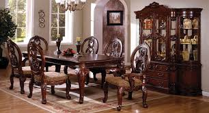 tuscan dining room table buy furniture of america cm3845ch t set tuscany ii dining room set