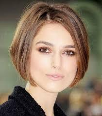 coupe de cheveux visage ovale coupe de cheveux chatain courte pour visage ovale 17 modèle