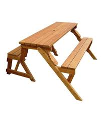 part of folding picnic table bench to make your picnic complete