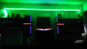 dorm room leds flashing to music years by alesso youtube