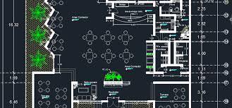 hotel floor plan dwg beach restaurant 2d dwg design plan for autocad designs cad