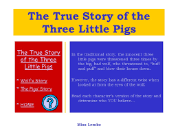 true story pigs wolf u0027s storywolf u0027s story