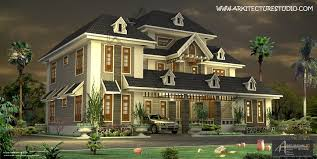 colonial house design kerala home design house plans indian budget models