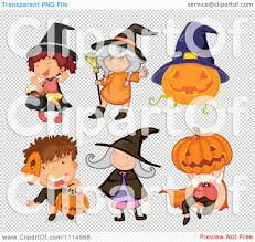 halloween children background clipart halloween trick or treat children in costume royalty