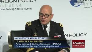 lieutenant general hr mcmaster discusses military technology