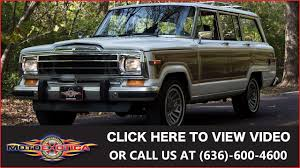 jeep wagoneer lifted 1989 jeep grand wagoneer sold youtube