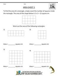 7th grade area and perimeter worksheets area and perimeter