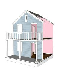 house plans for american or 18 inch dolls 5 room