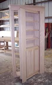 How To Make A Secret Bookcase Door Construction Of A Secret Door That Will Open Into A Hidden Room