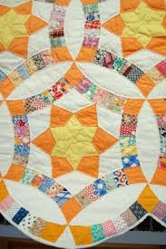 Wedding Ring Quilt by Quilt Inspiration Wedding Ring Quilt Inspiration And Free Patterns