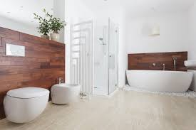 badezimmer mit holz zu holz im badezimmer