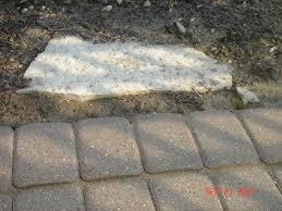 paver patio edging options rising brick paver driveway patio edge restraint u2013 how to fix