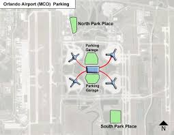 mco terminal map orlando airport parking mco airport term parking rates map