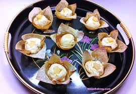 canape rodeo calgary cowboy bourbon caramel cheesecake won ton crisps by the