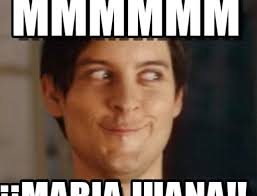 Maria Meme - mmmmmm spiderman peter parker meme on memegen