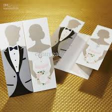 wedding invitations exles 2017 sle personalized wedding cards laser cut folded