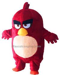 Angry Birds Halloween Costume Birds Red Mascot Costume
