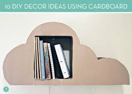 How To Make A Cardboard Chandelier Diy Ideas 10 Clever Ways To Use Cardboard In Your Decor Curbly
