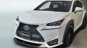 lexus nx product review lexus nx gets an aggressive styling package from wald international