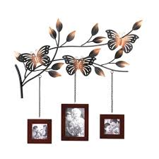 Hanging Wall Decor by Amazon Com Koehler Home Decor Butterfly Wood Picture Photo