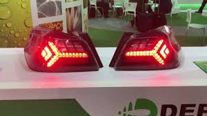 New Led Tail Lights For Wrx Sti 2015 Sequentials Clip Youtube