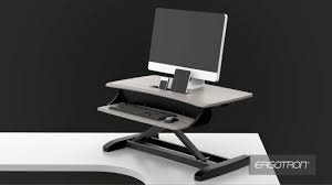 Ergotron Sit Stand Desk Ergotron Workfit Z Mini Sit Stand Desk Converter