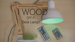my new wooden desk lamp inateck youtube