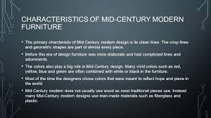Most Modern Furniture by Mid Century Modern Ppt Download