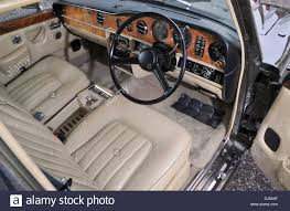bentley interior 1979 bentley t2 classic british luxury car interior stock photo
