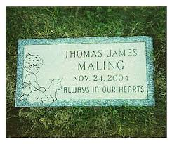 Flat Grave Markers With Vase Provost U0027s Memorials Crafts Custom Monuments Headstones