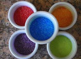 how to make glitter or colored sand easy u0026 quick diy youtube