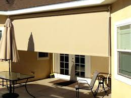 Coolaroo Patio Umbrella by Patio Ideas Exterior Patio Roller Shades Patio Roll Up Shades