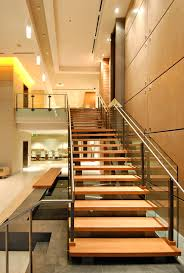 Lobby Stairs Design Beautiful Stairs In Modern Lobby Staircase Wainscoting Design