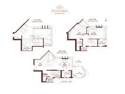 Triplex Plans by Floor Plans D U0027homed U0027home