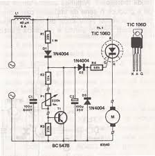 ac drill speed controller circuit
