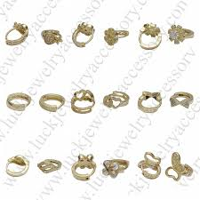 different types of earrings fashionable many kinds of different brass white different