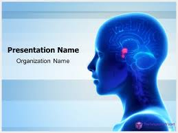 templates for powerpoint brain brain pituitary gland powerpoint template thetemplatewizard com